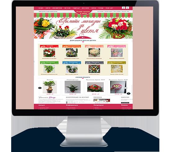уеб дизайн Пловдив, изработка на онлайн магазини